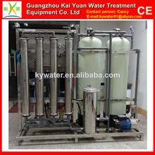 De control automático de salobre 1t/h automática ro filtro de agua del sistema equipo
