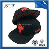 Blank Galaxy Fabric 6 Panel Snapback Caps With 3D Embroidery,Promotional Universe Baseball Cap