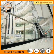 Glass railing Shopping mall glass railing glass balcony railing Swimming pool fence H155306