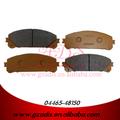 Cerâmica disco de freio pad para gsu45/highlander pastilha de freio para automóveis toyota oem: 04465-48150