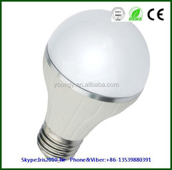 Top quality dimmable 360 degree 5w led bulb light, led globe bulb 3 years warranty