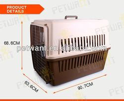 IATA Approved plastic cheap wholesale the dog kennel