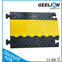 2 Channels Cable Cover /Cable Protetor for Traffic