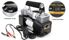 DC12V metal car inflator portable air compressor kit/ DC 12V Car air Compressor heavy duty air compressor