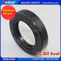 Internally-wrapped skeleton oil seal