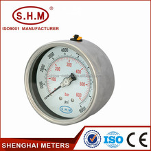 different types of pressure gauges, water pressure gauge, bourdon tube pressure gauge