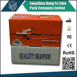 Stronger 20kg BC Wax Coated fish packaging box