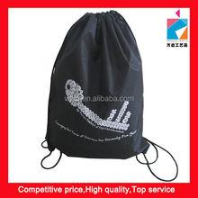 Portable Polyester Eyes-Catching Drawstring Bag