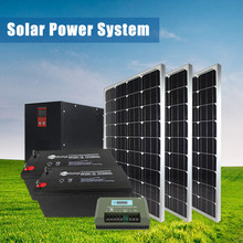 Factory price solar home power system 60000w with low price