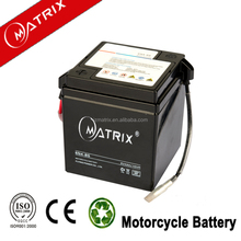 6v 4ah sealed electric motor battery for motocycle