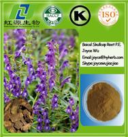 Natural Herbal Medicine Baical Skullcap Root Powder Baicalin Extract use for skin care
