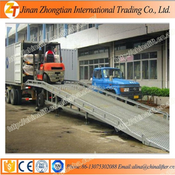 2015 Europe best selling new model mobile loading dock ramp used truck