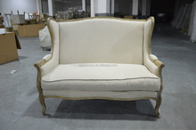 Wholesale French Countryside Fabric Sofa Furniture, Upholstered Sofa Chair