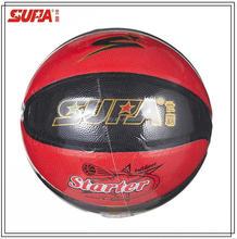 High Quality Rubber Basketball/8 Panels PU Laminated Rubber Basketball
