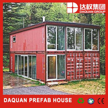 Promotion! DAQUAN Low cost easy assemble prefab container house living quarters for staff and workers