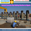 Vertical Vibration type reinforced concrete pipe ,concrete pipe making machine south africa