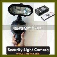 Motion Activated Security Light Camera