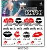 ShangHai LingFeng hot lip tattoo sticker