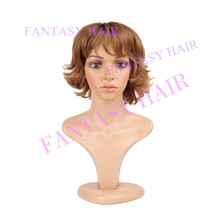 New design 2015 New arrival fashionable ombre synthetic short wigs