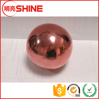 China leading manufacturer supplied small copper float ball