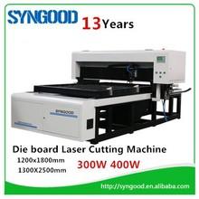 Die wood Laser cutting machine 300W 400W laser tube 18mm 22mm 23mm thickness