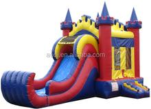 Kings & Queens Castle Combo /Bouncy Castle Bounce House Slide Combo /inflatable combo
