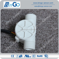 Rate 2~30L/min water pump flow sensor, hall water flow sensor