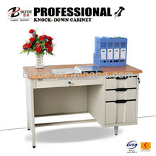 New design steel office desk with 3 drawers