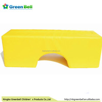 foam block with arched tunnel - soft play area for play and training