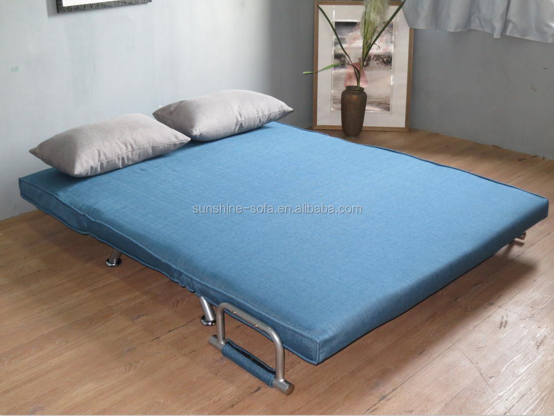 Modernen wohnzimmer stoff liege metall sofa bett billig wohnzimmer ...