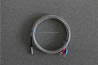 type K/J rigid lead cable thermocouple/RTD