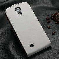 Real leather high quality phone case cover for Samsung Galaxy S4 I9500 flip design 50 pcs/lot china wholesale