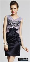 sscshirts diseño cómodo y suave imágenes baratos vestido vestido de oficina para las señoras