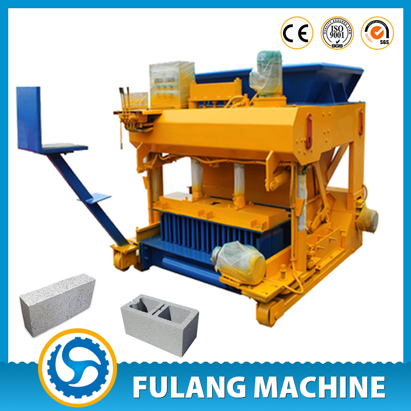 Cement Block Machines : Cement block making machine for construction fl laying