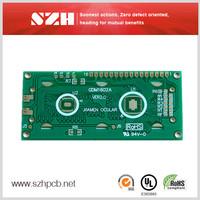 UL 94Vo 1oz 1.6mm rigid pcb with Identification system in SZH