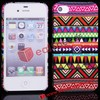 Fashion Aztec Hard PC Back Cover for iPhone 4S/4