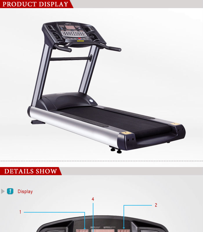 BCT02 new design motorized treadmill/best selling treadmill