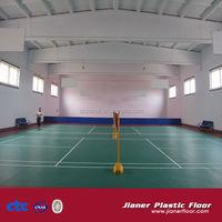 Indoor PVC Badminton flooring In Green Color