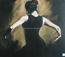 High Quality reproduction woman oil painting