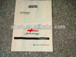 Colorful die cutting plastic shopping Bag