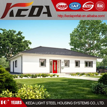 2015 Modern Prefabricated Houses Light Steel Villa 073
