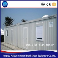 Mobile kitchen container/ modular homes/ china prefabricated homes