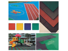 Widely used colorful epdm granule rubber price