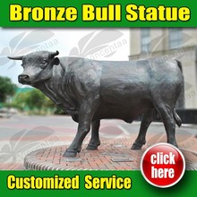 Hot selling bronze bull chicago with Experienced Factory