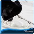 100% poliéster negro materias primas las servilletas sanitarias para el restaurante
