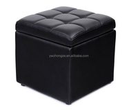 Faux learther Ottoman