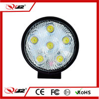 HOT PRODUCTS 18w round waterprof 12V 6000K LED work light led worklighting