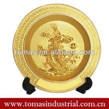 Única del oro por encargo medalla de recuerdo