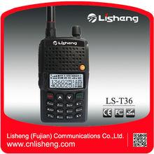Black panel 10m/2m UV fm LS-T36 dual band radio