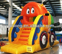 inflatable jumping slide, supermoto inflatable slide